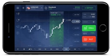 Mobile Trading App with IQ Option