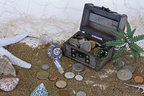 Airdrops on The Seashore