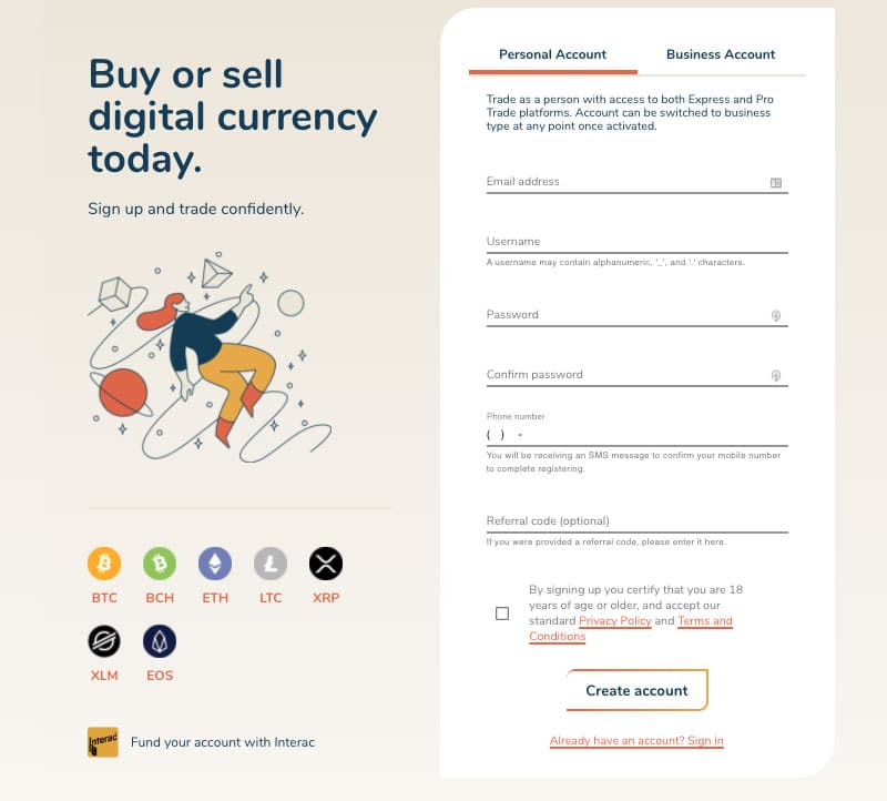 Bitbuy Registration