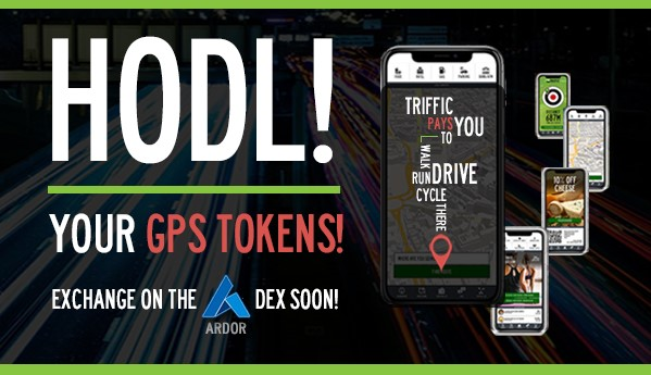 Hodl Your GPS Tokens