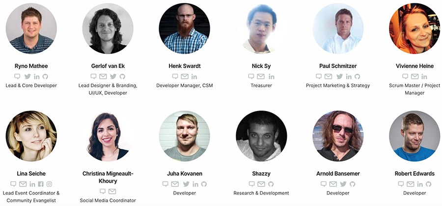 Particl Team Members