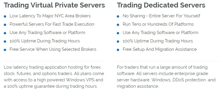 VPS Server offers IC Markets