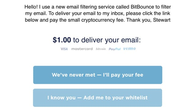 BitBounce Email Reply