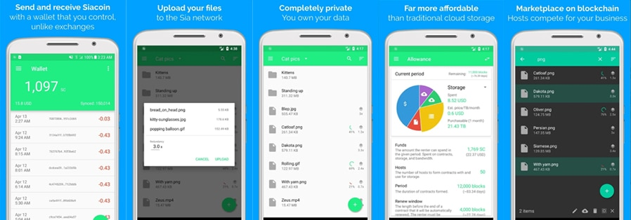 Siacoin Android Wallet