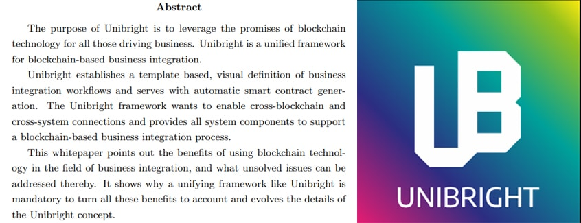 Unibright Whitepaper