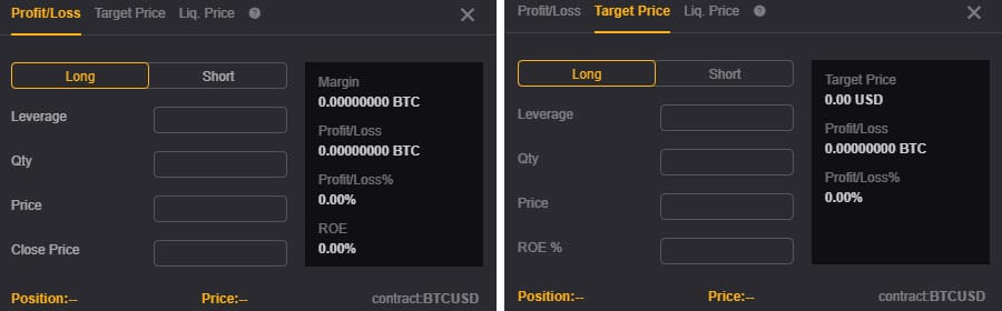 ByBit Position Calculator