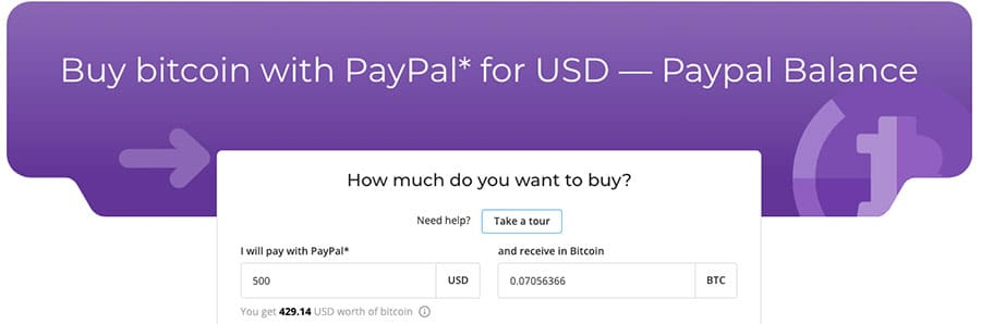 Purchase Amount Paxful