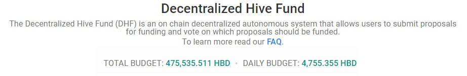 Decentralized Hive Fund