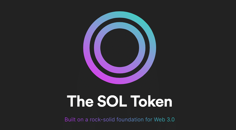 SOL Cryptocurrency Token