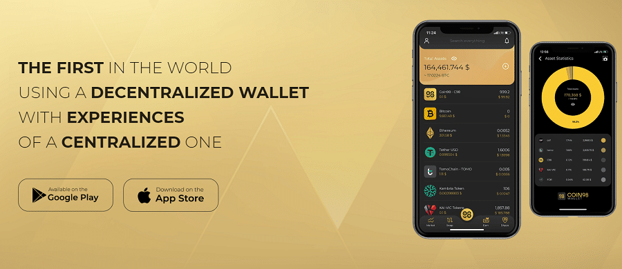 Coin98 Cryptocurrency Wallet