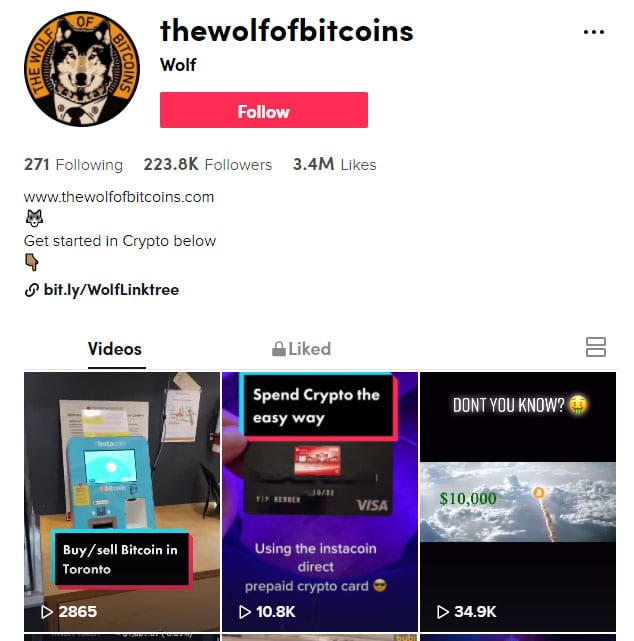 Wolf of Bitcoins