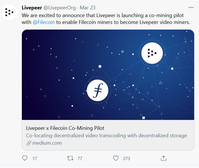 LivePeer Filecoin
