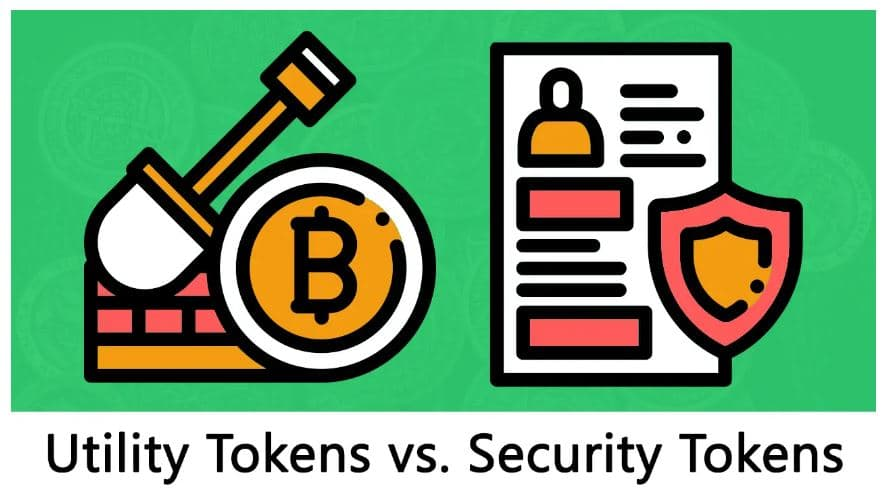 Utility vs Security Tokens