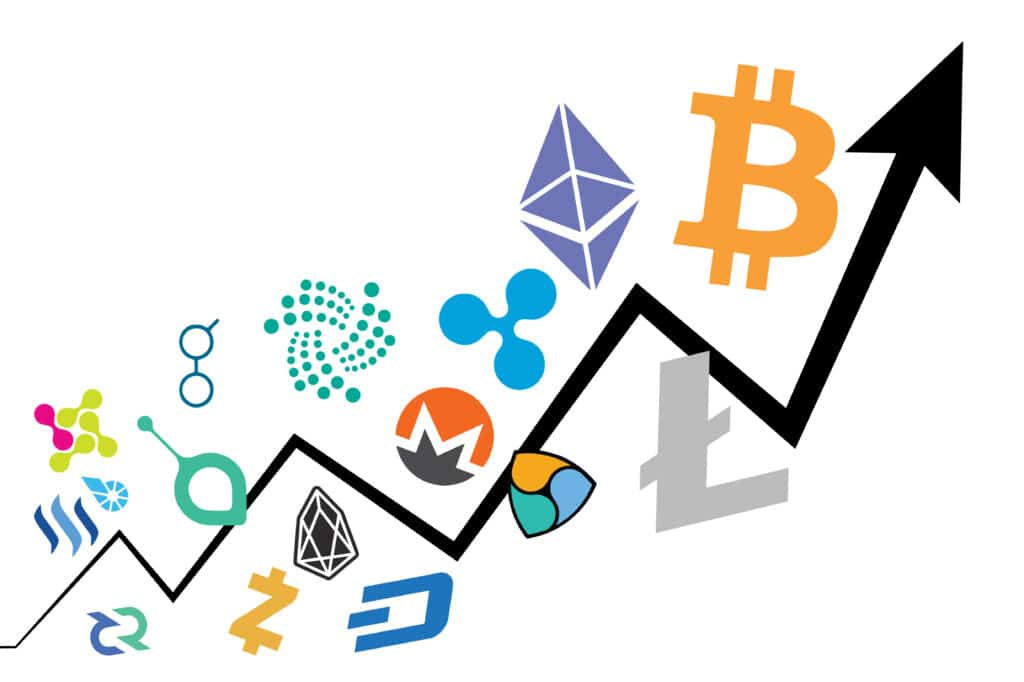 Different Cryptos Chart