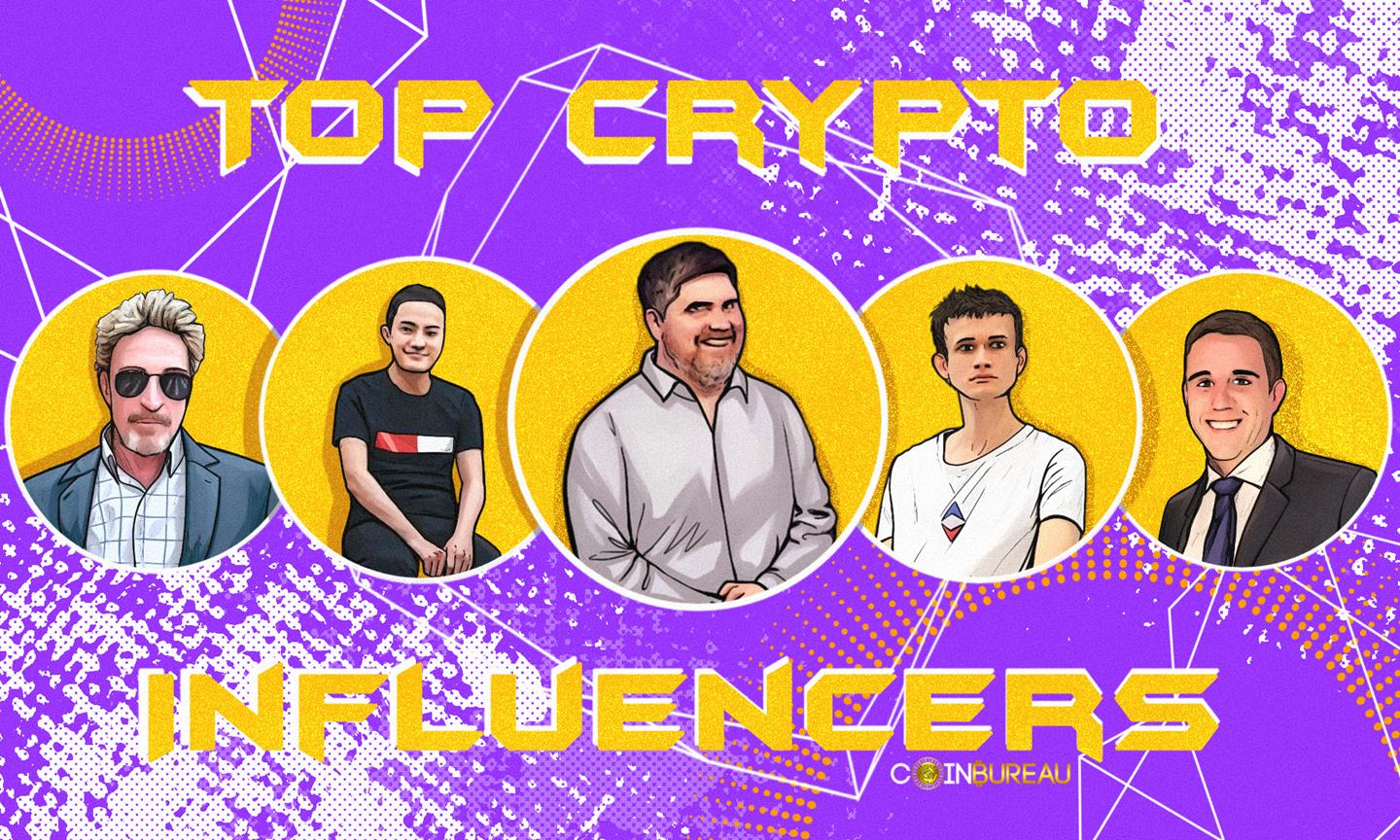 13 of the Top Crypto Influencers of 2021